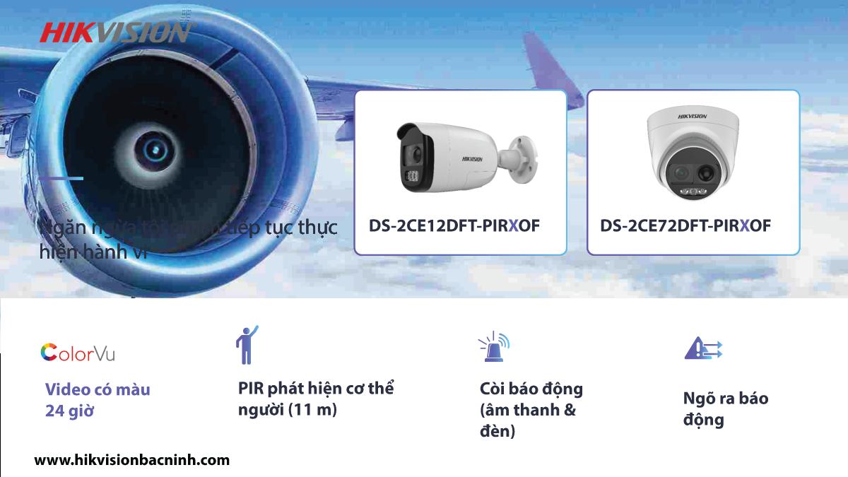 Camera Color Vu tích hợp đèn nháy và còi báo động. (2)