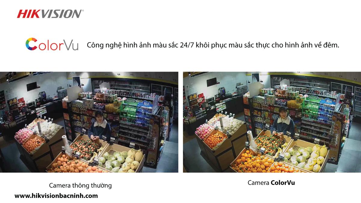 Camera Color Vu tích hợp đèn nháy và còi báo động. (6)