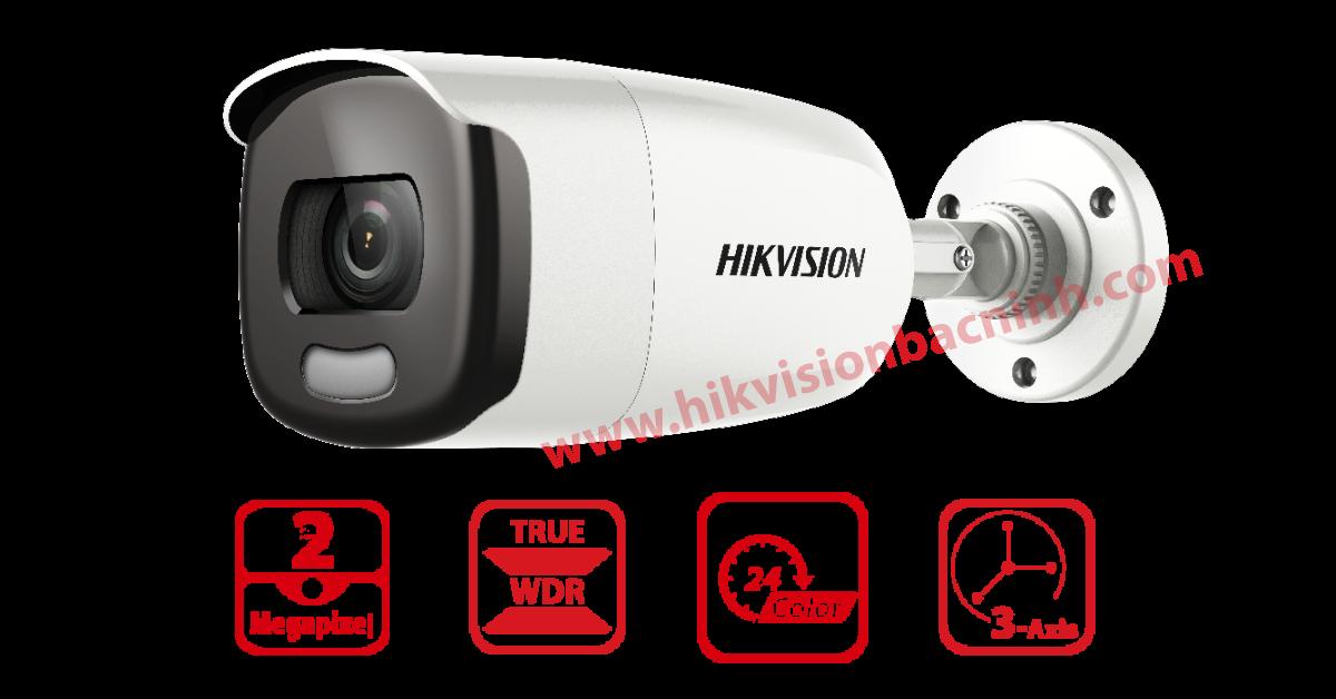 Màu máy ảnh Vũ Hikvision DS-2CE12DFT-F