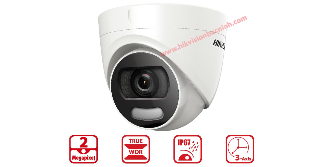 Camera Color Vu Hikvision DS-2CE72DFT-F