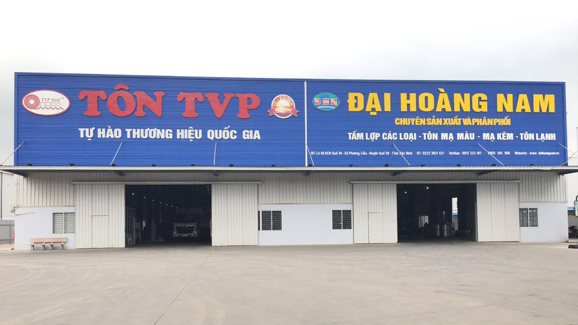 Lắp đặt camera tại Quế Võ-Bắc Ninh Công ty Tôn Đại Hoàng Nam