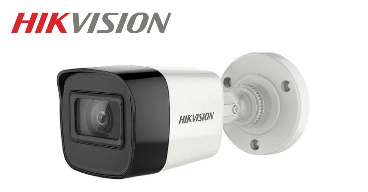 Camera Ghi Âm HD-TVI Hikvision DS-2CE16H0T-ITFS 5MP